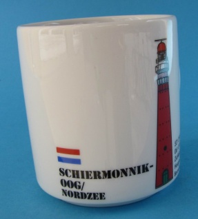 Leuchtturm Becher Schiermonnikoog Holland Niederlande