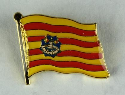 Pin Anstecker Flagge Fahne Menorca Spanien