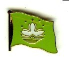 Macau Pin Anstecker Flagge Fahne