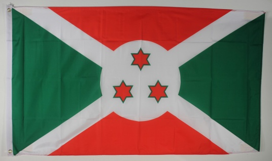 Flagge Fahne : Burundi Burundiflagge Nationalflagge Nationalfahne
