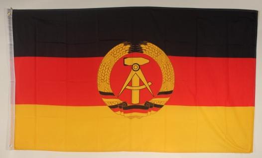 Flagge Fahne DDR 90x60 cm
