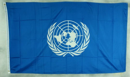 Flagge Fahne : UNO Vereinte Nationen
