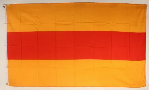 Flagge Fahne Baden ohne Wappen