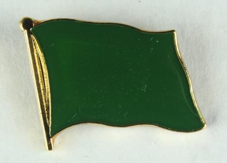 Libyen alt grüne Flagge Pin Anstecker Fahne Nationalflagge