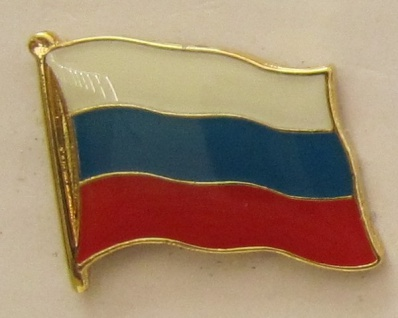 Pin Anstecker Flagge Fahne Russland Nationalflagge