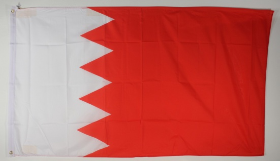 Flagge Fahne : Bahrain Nationalflagge Nationalfahne