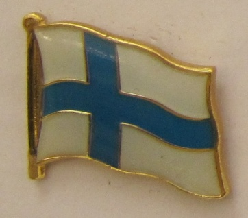 Pin Anstecker Flagge Fahne Finnland Staatsflagge Flaggenpin Button Badge Flag...