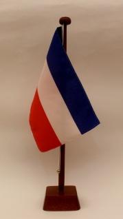 Tischflagge Jugoslawien 25x15 cm optional mit Holz- oder Chromständer Tischfa...