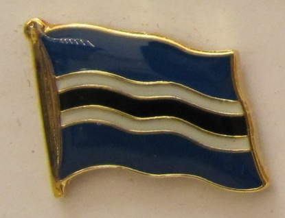 Botswana Pin Anstecker Flagge Fahne Nationalflagge