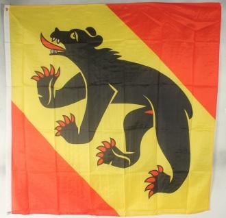 Flagge Fahne : Bern Kanton Schweiz