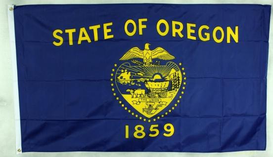 Flagge Fahne : Oregon