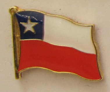 Chile Pin Anstecker Flagge Fahne Nationalflagge