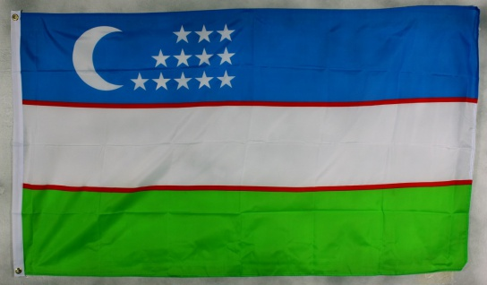 Flagge Fahne : Uzbekistan Usbekistan Nationalflagge Nationalfahne