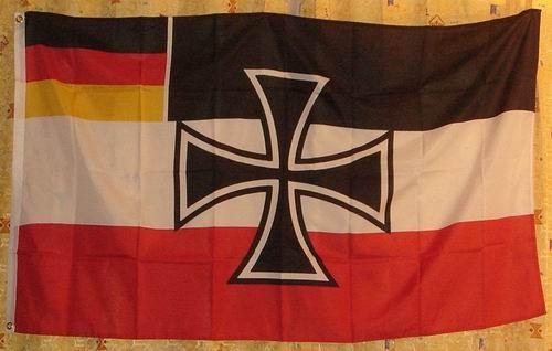 Flagge Fahne Kriegsflagge Weimarer Republik 1921-33
