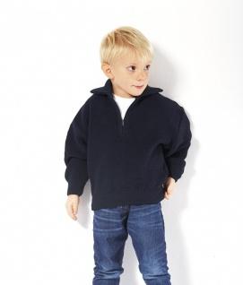 Kinder Troyer 100% Schurwolle Pullover Farbe blau oder rot Größe 92- 176