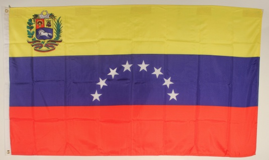 Flagge Fahne : Venezuela Venezuelaflagge Nationalflagge Nationalfahne