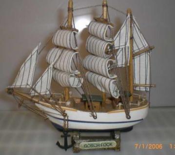Schiffsmodell Gorch Fock