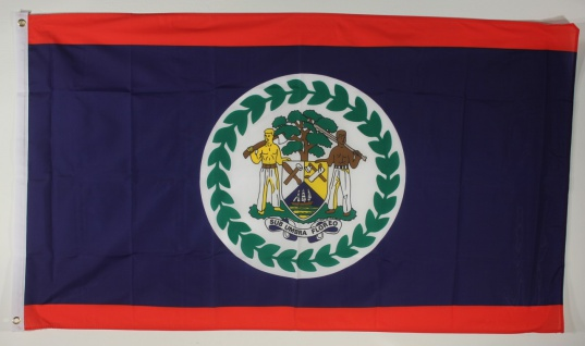 Flagge Fahne : Belize Belizeflagge Nationalflagge Nationalfahne