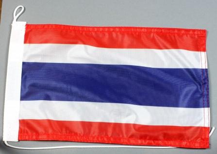 Bootsflagge : Thailand 30x20 cm Motorradflagge
