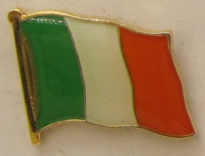 Pin Anstecker Flagge Fahne Irland Nationalflagge Flaggenpin Button Badge Flag...