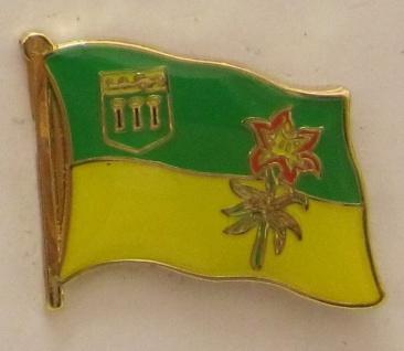 Saskatchewan Kanada Pin Anstecker Flagge Fahne - Vorschau