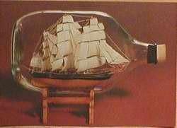 Buddelschiff - Postkarte bb05
