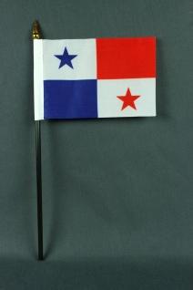 Kleine Tischflagge Panama 10x15 cm optional mit Tischfähnchenständer