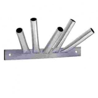 5-fach Masthalter Stahl feuerverzinkt 20 mm