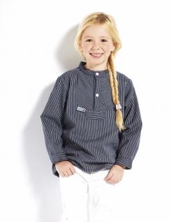Kinder Fischerhemd - Basic - schmalgestreift Kinderkleidung Hemd alle Größen ...