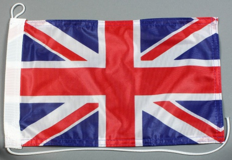 Bootsflagge : Großbritannien Union Jack 30x20 cm Motorradflagge