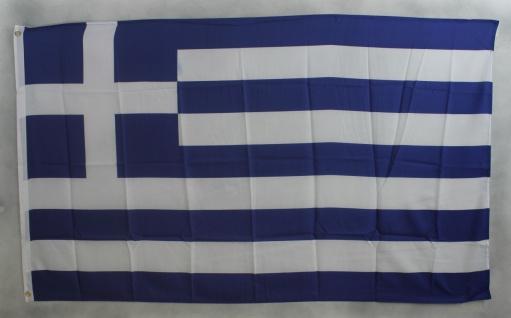 Griechenland Flagge Großformat 250 x 150 cm wetterfest