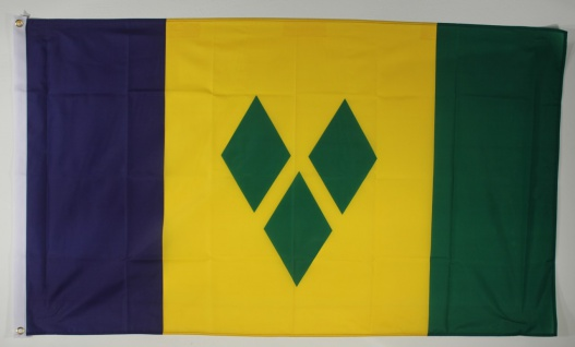 Flagge Fahne : St. Vincent Nationalflagge Nationalfahne