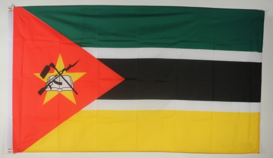 Flagge Fahne : Mosambik Nationalflagge Nationalfahne Mosambique
