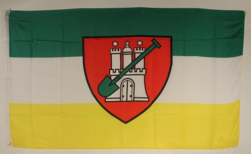 Flagge Fahne Hamburg Garten 90x60 cm