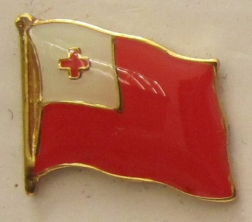 Tonga Pin Anstecker Flagge Fahne Nationalflagge - Vorschau