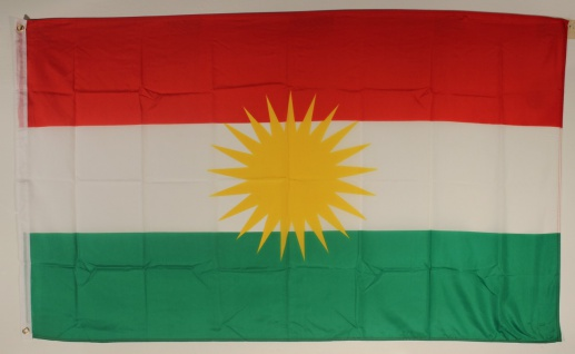 Flagge Fahne : Kurdistan Nationalflagge Nationalfahne