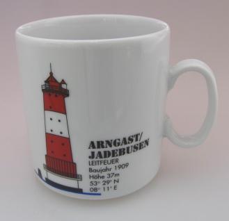 Leuchtturm BRESKENS Holland Kaffeebecher Becher Nordsee Lighthouse Porzellan