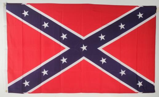 Flagge Fahne USA Südstaaten Confederate 90x60 cm