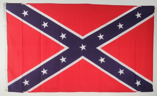 USA Südstaaten Flagge Großformat 250 x 150 cm wetterfest - Vorschau