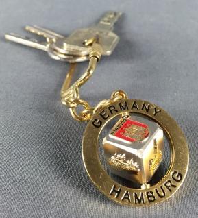 Schlüsselanhänger Würfel drehbar