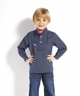 Kinder Fischerhemd breitgestreift Kinderkleidung Hemd alle Größen original Modas
