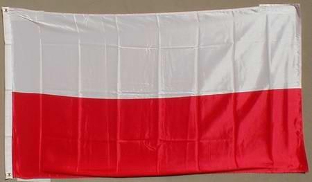 Polen Flagge Großformat 250 x 150 cm wetterfest