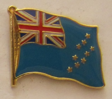 Tuvalu Pin Anstecker Flagge Fahne Nationalflagge