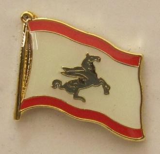 Pin Anstecker Flagge Fahne Toscana Italien