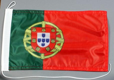 Bootsflagge : Portugal 30x20 cm Motorradflagge