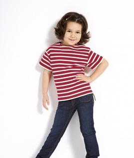 Bretonisches Kinder T-Shirt Ringelhemd geringelt Kinderkleidung Kinderhemd