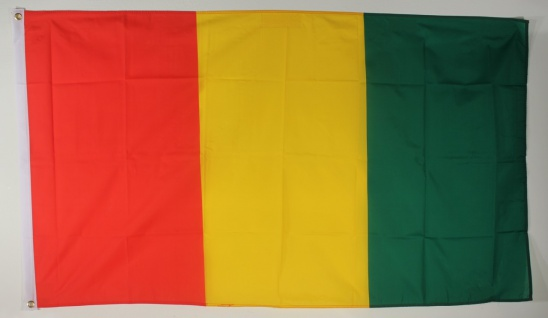 Flagge Fahne Guinea Guineaflagge Nationalflagge Nationalfahne