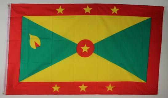 Flagge Fahne : Grenada Grenadaflagge Nationalflagge Nationalfahne