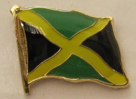 Jamaika Pin Anstecker Flagge Fahne Nationalflagge