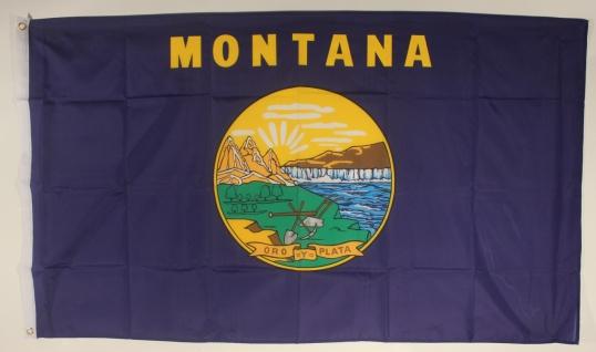 Flagge Fahne : Montana
